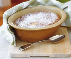 This pudding is rightly known as delicious. http://www.penguin.com.au/lantern/kitchen/recipes/lemon-delicious-pudding