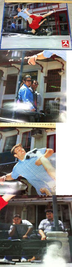 Posters 58127: Vintage Retro Hook-Ups Jeremy Klein Vs Ming Tran Skateboard Poster BUY IT NOW ONLY: $35.0