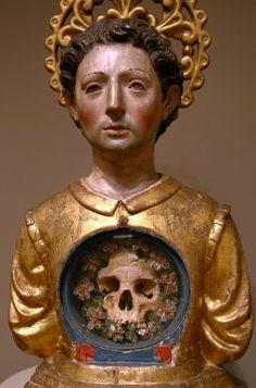 ¿Qué fue de San Sebastián? Catholic Art, Religious Art, Catholic Religion, Memento Mori, Madonna, Sculpture Art, Sculptures, Art Populaire, St Sebastian