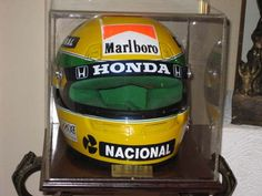 Ayrton Senna Helmet, Formula 1, Honda, Racing, Detail, Ideas, Helmet, Running, Lace