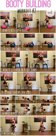 Booty Building Workout n.2. fitness, workout, exercise, routine, training, toning up, strengthening, slimming, abs, 6 pack. If you like it, repin it :-) #FastSimpleFitness Get Free Fitness and Weight Loss News and Tips by Liking Us on: www.facebook.com/FastSimpleFitness