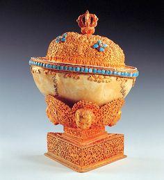 Sicilian coral artifact