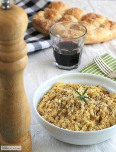 Te explicamos paso a paso de manera sencilla la receta de risotto a la carbonara. Ingredientes, tiempo de elaboración y pasos. Receta italiana con arroz