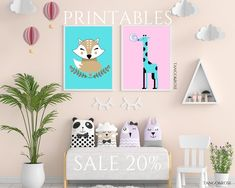 Hello sunshines! Click on this pin and get 20% sale on all of our products! CLICK RIGHT NOW. Love, Tango&Rose Animal Posters, Animal Nursery, Nursery Room, Tango, Bathroom Ideas, Art For Kids, Digital Prints, Printer, Modern Design