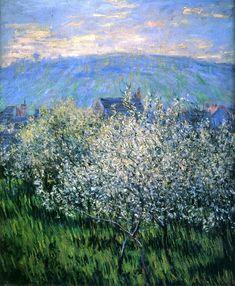 Claude Monet - Plums Blossom