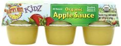 Earth's Best Kidz Organic, Apple Sauce Cup, 6 Count - http://goodvibeorganics.com/earths-best-kidz-organic-apple-sauce-cup-6-count/