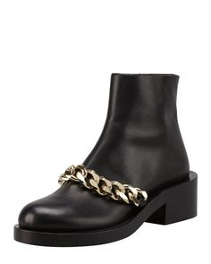 Givenchy Chained Chelsea Boots