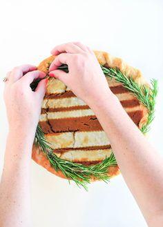 DIY Holiday Pie Crusts