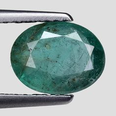 Other Emeralds 164398: 1.47Cts Green Oval Emerald Natural Loose Gemstone See Video -> BUY IT NOW ONLY: $110.25 on eBay!