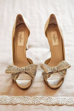 18 Most Wanted Wedding Shoes for Bride ❤ See more: http://www.weddingforward.com/wedding-shoes/ #weddings #shoes