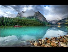 Banff, Lake Louise, Whistler Canada. It's hard to believe such beauty really exists.