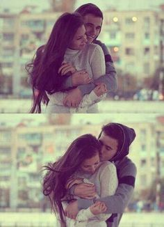 Hugs from behind are the best ! :* And then when you whisper something in my ear... I can feel you warm breath over there.. & it tickles and sends goosebumps all over my body :*