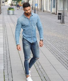 "5,159 Likes, 43 Comments - Andreas Linder (@andreaslinder83) on Instagram: ""Double denim"""