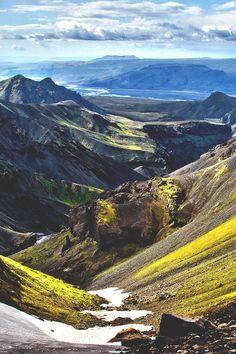 Fimmvörðuháls, Iceland.