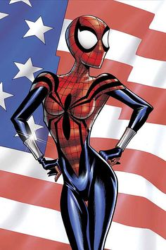 Spider-Girl Cover: Spider-Girl Marvel Comics Poster - 61 x 91 cm Spider Girl, Spider Women, Spiderman, Batwoman, Batgirl, Black Widow, Marvel Dc, Marvel Comics, Marvel Girls