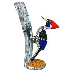 Luis Pablo: One-Piece Woodpecker   Sandia Folk