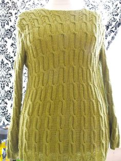 wool long cardigan with long sleeves by svetlanapause on Etsy, $120.00