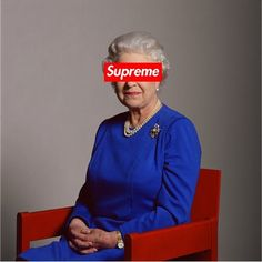 Supreme x The Queen