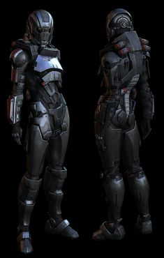 ZBrush Interview: Mass Effect 3 Fem Shepard