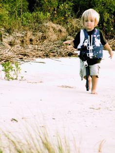 Ethan walking...always walking...
