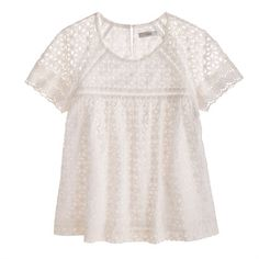 Eyelet top I want this to wear with my comfy lighter wash jeans!