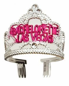 From Forum Novelties Bachelorette Las Vegas Tiara Great Addition to Your Image | eBay