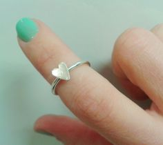 Knuckle Ring Valentines Day Gift for Her by JanuaryJewelryShop, $25.00