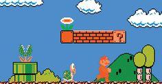 Quien jugó durante los años 80 o 90 sabe que solo era posible hacer avanzar a los protagonistas de izquierda a derecha en la pantalla, El secreto de Súper-Mario.