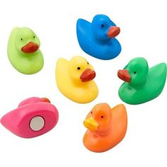 Rubber duck magnets