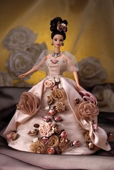 Antique Rose™ Barbie® Doll | Barbie Collector