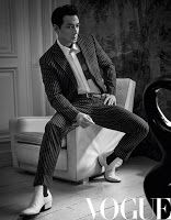 Male Fashion Trends: Alicia Vikander y Daniel Wu para Vogue China por Mark Seliger