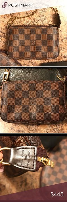 dc66d38893be Louis Vuitton Pochette Damier Ebene Pochette bag