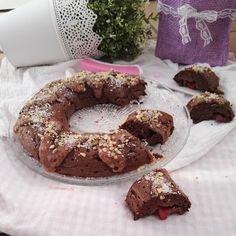 """Recetas Verofortyfit     """"Healthy and Delicious Food"""": BIZCOCHO DE CHOCOLATE SIN CEREALES  RICO EN PROTEÍ..."""