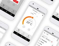 "Check out new work on my @Behance portfolio: ""Heating element control application"" http://be.net/gallery/53924725/Heating-element-control-application #ux #ui"