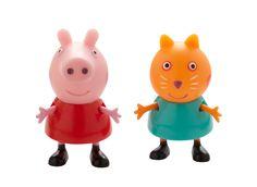 PEPPA GRIS-figurer, Peppa og Kara Katt