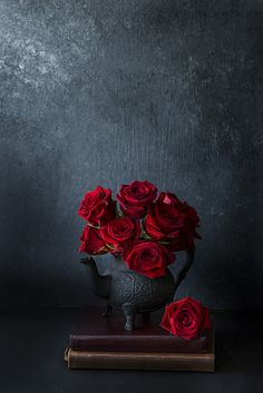 Red Roses - 2017 by Simi Jois Wallpaper Nature Flowers, Flower Background Wallpaper, Beautiful Nature Wallpaper, Flower Backgrounds, Crazy Backgrounds, Red Roses Background, Wallpaper Backgrounds, Flor Iphone Wallpaper, Flower Wallpaper
