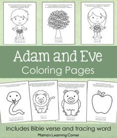 Adam and Eve Coloring…