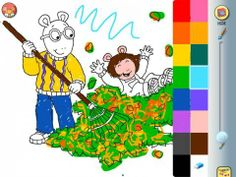 Discount: Arthur Turns Green - by Marc Brown by ScrollMotion (Old Price: 2.99$, New Price: 1.99$) http://www.appysmarts.com/application/arthur-turns-green-by-marc-brown,id_363.php #iPhone #iPad #kids #apps