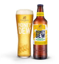 Organic Honey Dew; The UK's Best Selling Organic Beer - Fuller's