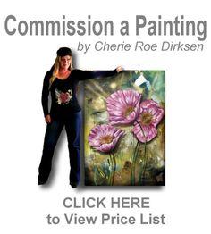 Commission a Painting #CherieRoeDirksen #art