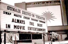Sunair Drive-in and Swapmeet in the 70's