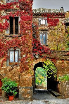 Villa in Autumn- Italy