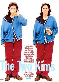 Kim Deal looking incredibly badass.
