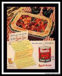 Retro Recipes, Vintage Recipes, 1950s Food, Retro Food, Lemon Jello, Lamb Stew, Food Spot, Food Advertising, Diy Kitchen Decor