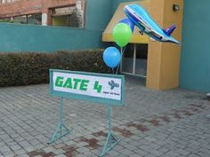 Gate # for crews to find where to be or for a game.