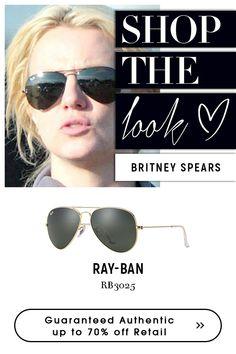 #britneyspears | #rayban #black #sunglasses . get the #celebrity look  @eyeglasses123.com