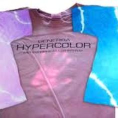Hyper color shirt. Back flash to the 90s!
