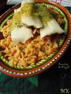 Tamales de Fijol con Jalapeño