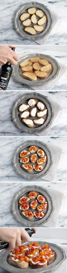 Roasted Garlic and Butternut Squash Crostini with Fig Balsamic - De Nigris 1889 - Bring the best Italy to your table.