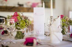 tischdeko-hochzeit-pink-gruen